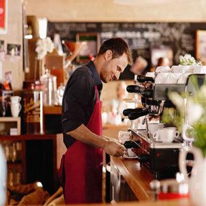 Servicio de cafetería interna
